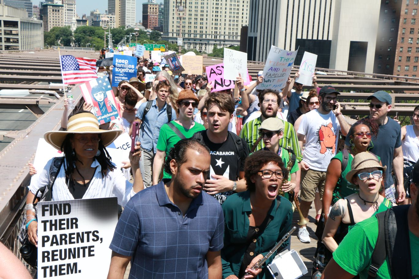Families Belong Together Immigrant Human Rights & Abolish ICE
