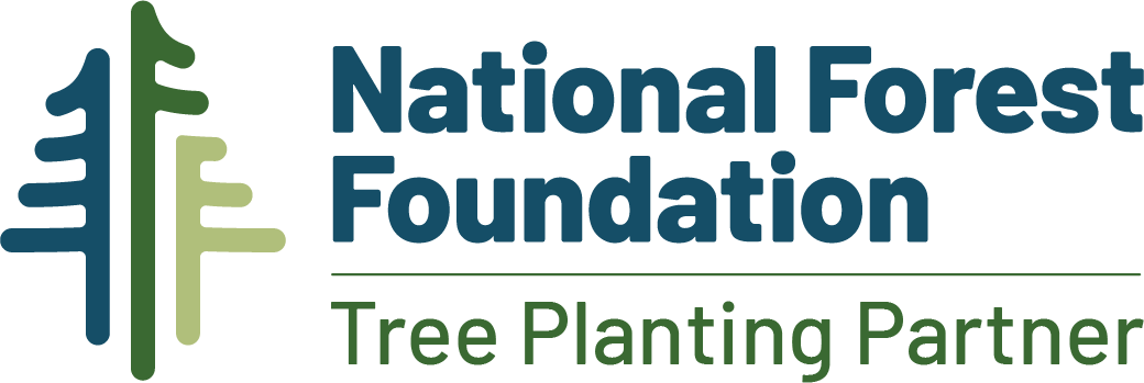 planting trees via the National Forest Foundation and other partners