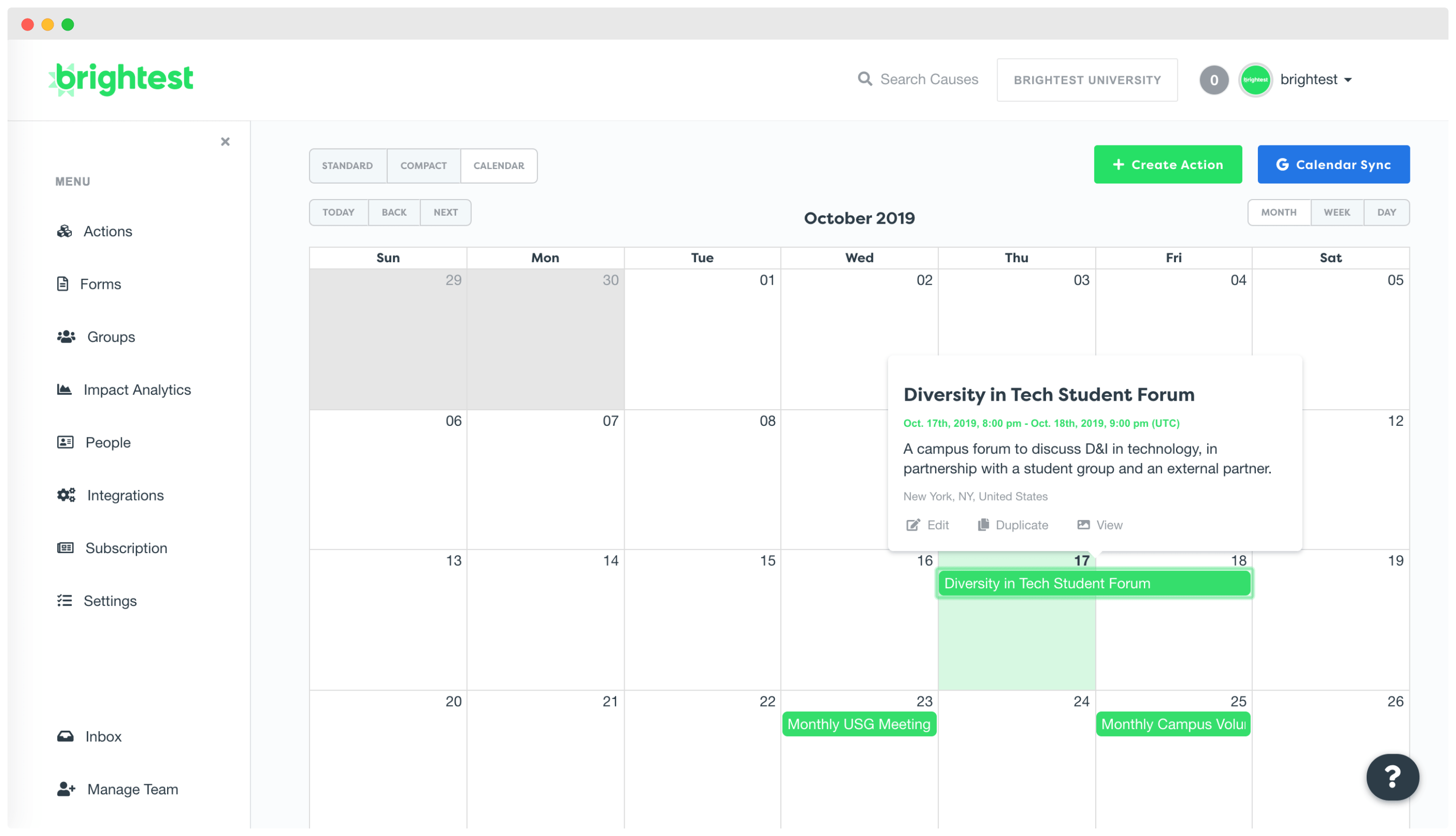 Event Management and Calendar Software