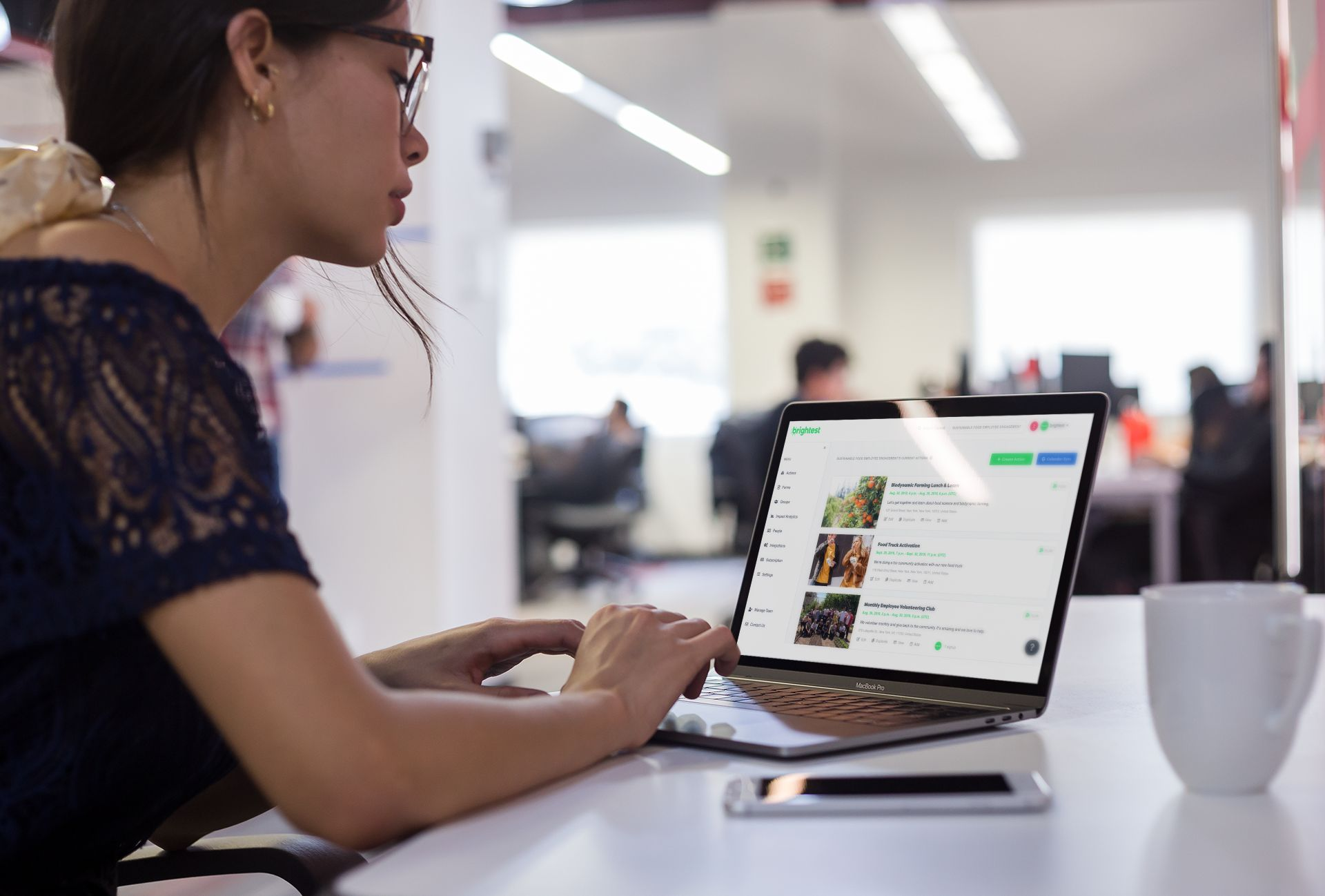 digital and community organizing software