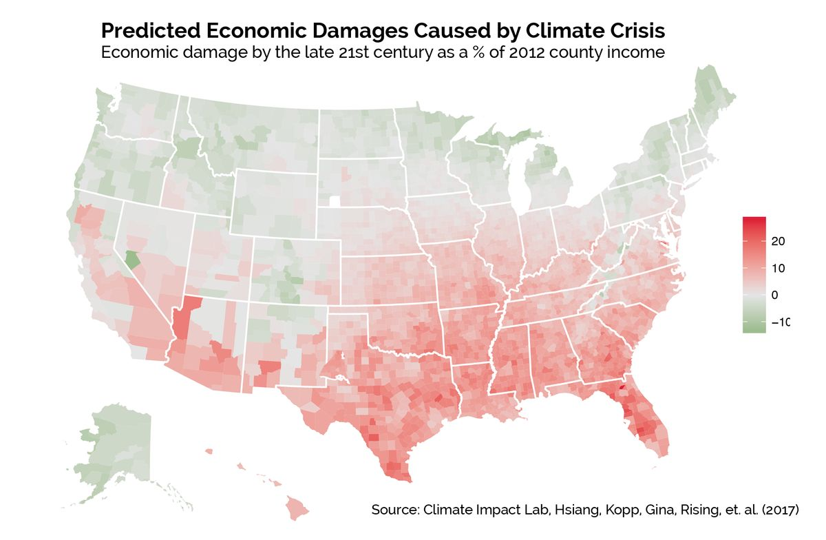 climate change U.S. risk forecast